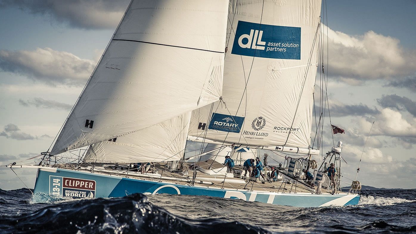 Highlights of the Clipper Race returning to St Katharine Docks, London