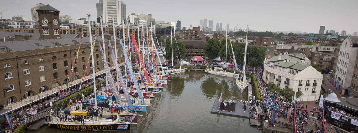 Visitors of the Race Village, London
