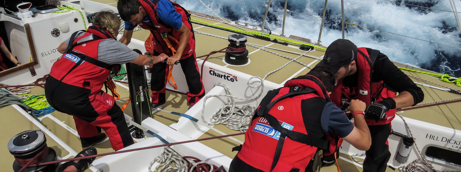 Grinding on the Clipper Race