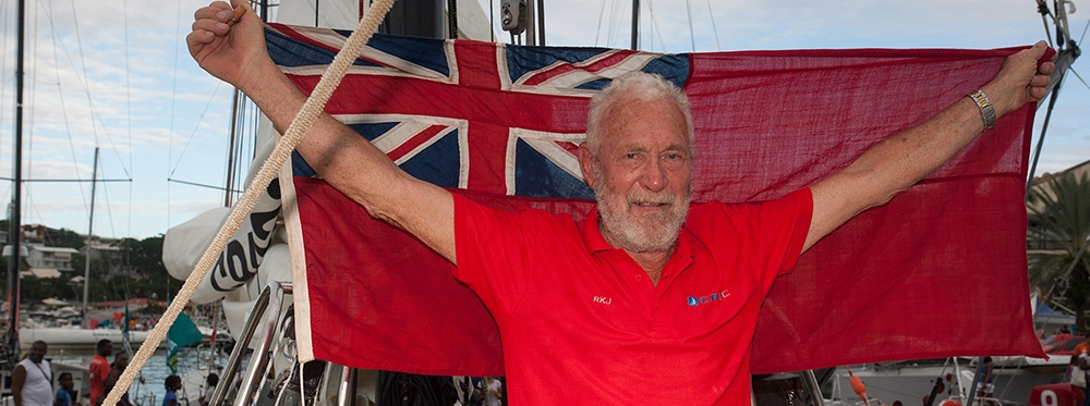 Sir Robin Knox-Johnston awarded 'Sailor of the Year' accolade by Sailing Today magazine