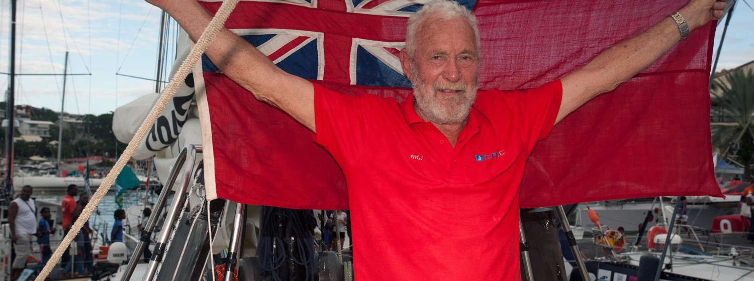 Sir Robin Knox-Johnston third in Route du Rhum – Destination Guadeloupe race
