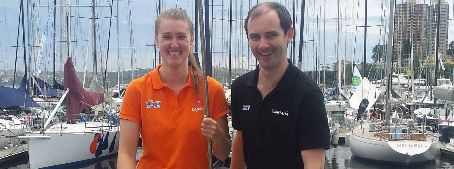 ​Clipper Race cousins re-trace family roots