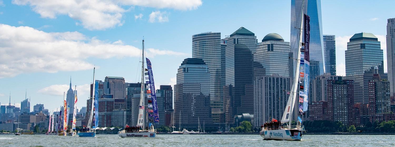 Clipper Race in New York