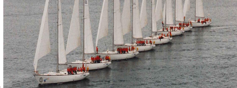 The Clipper 1996 Race fleet