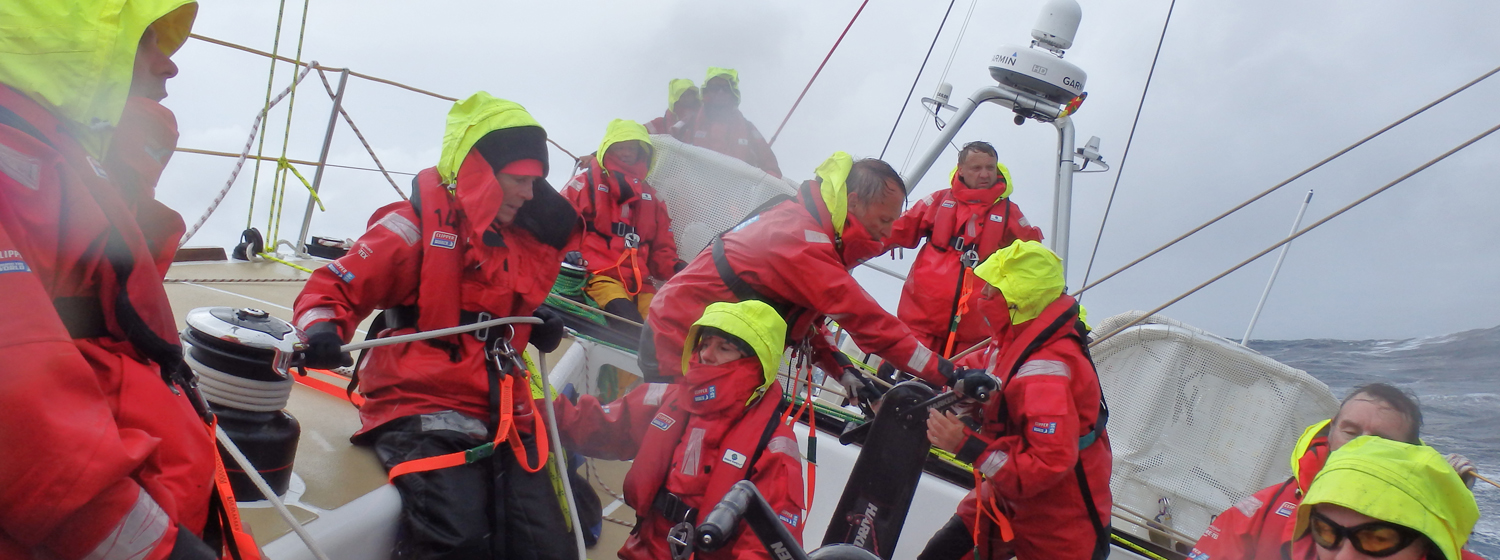 PSP Logistics racing in Leg 3, the Southern Ocean
