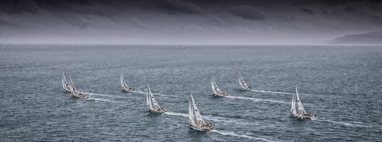 Clipper 2017-18 Race Fleet. Copyright Clipper Race / Matt Dickens / OnEdition