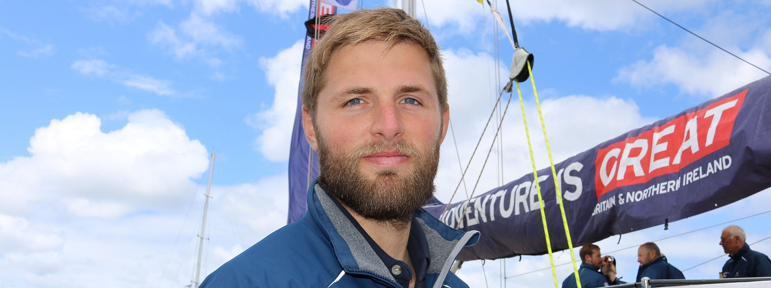 Olympic rower Bill Lucas completes the Southern Ocean leg 3