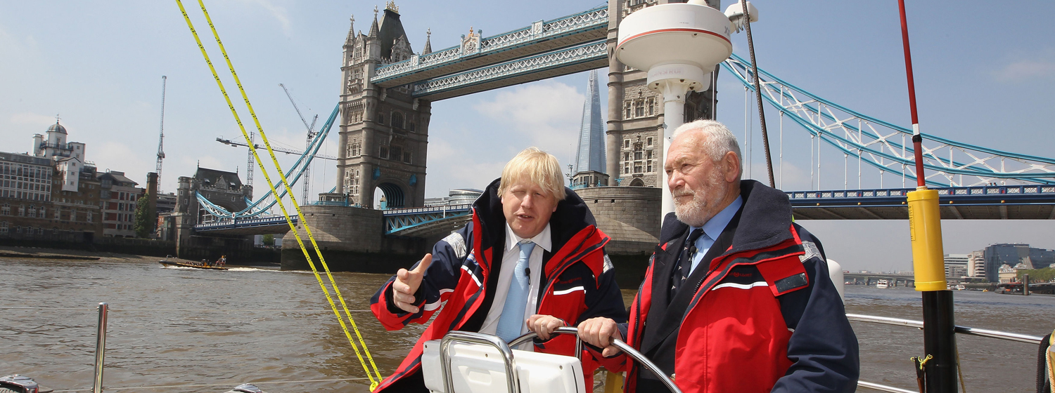 Mayor Boris Johnson says London proud to host Clipper Race