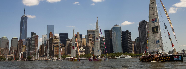 Clipper 2013-14 Race in New York