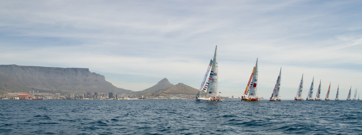 Race Start from Cape Town for Leg 3