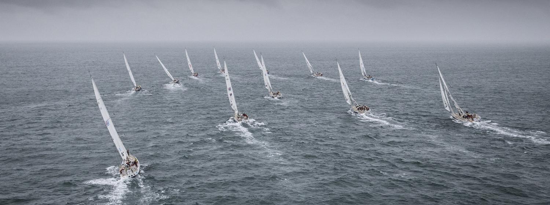 Race Departure from Punta del Este