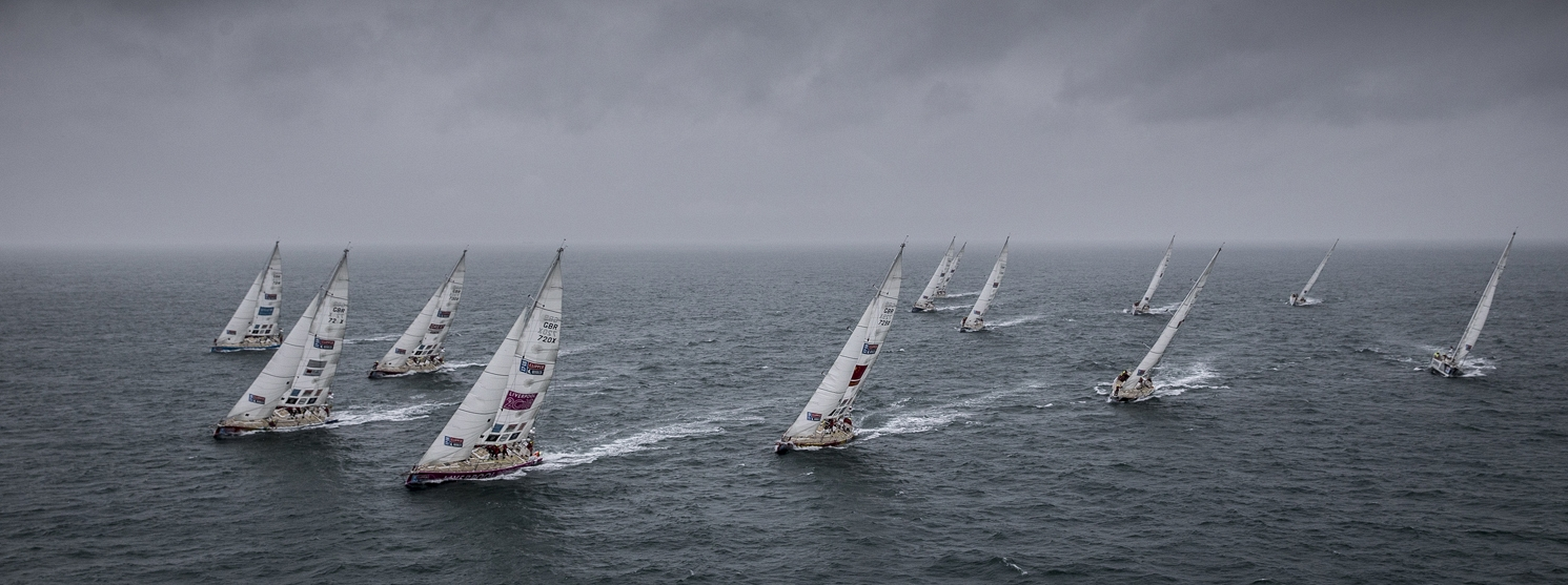 The Clipper Race Fleet Descend on Punta del Este, Uruguay