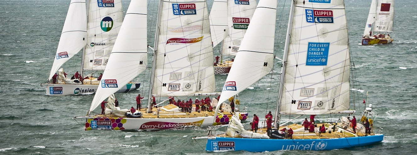 The Unicef Clipper Race yacht