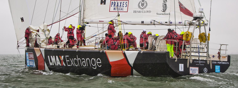 Clipper Race yachts