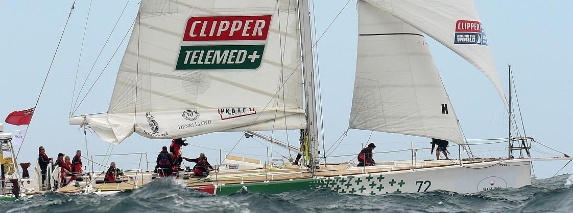 The ClipperTelemed+boat