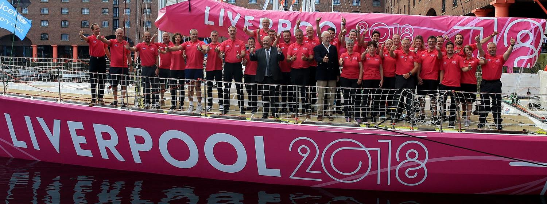 Liverpool 2018 naming ceremony
