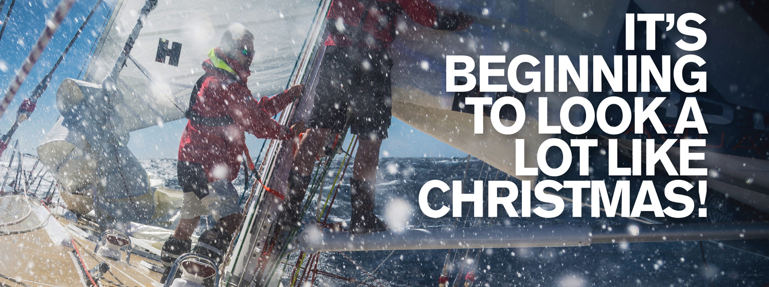 Merry Christmas greeting card from all at the Clipper Race