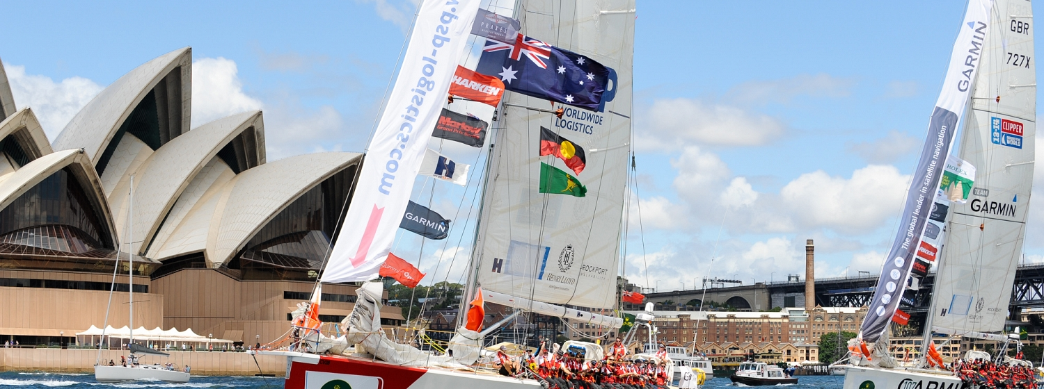 Australia Day marks first anniversary celebrations for Clipper Race in Sydney