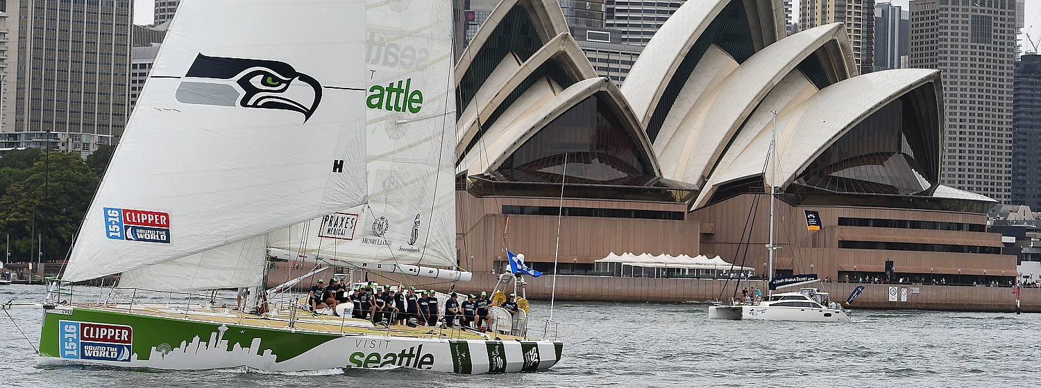 Visit Seattle team cheer on Seahawks from Down Under