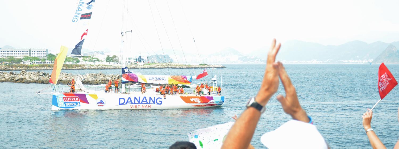 Da Nang-Viet Nam arrives in Rio