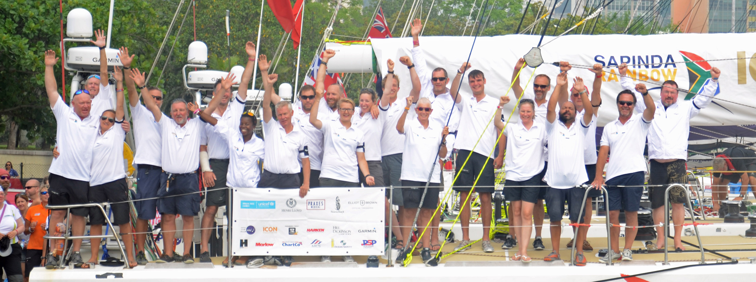 IchorCoal was greeted by crew and supporters in Rio