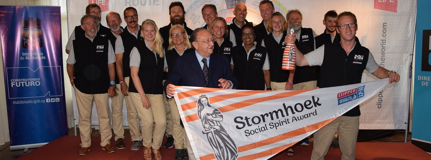 Greenings win Stormhoek Social Spirit Award in Race 1