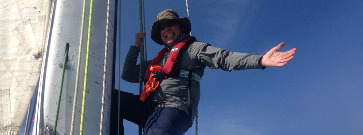 Clipper 2017-18 Race Crew Member David Wilson during Level One training