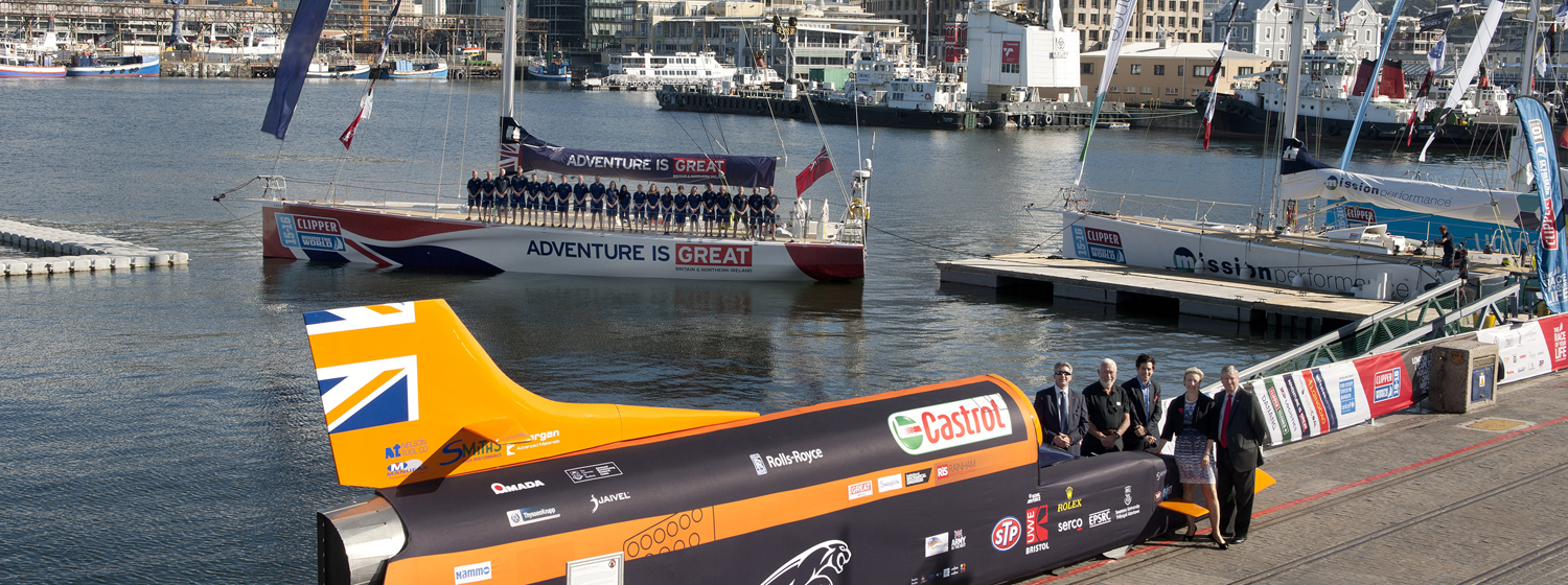 GREAT Campaign partnership with the Clipper Race