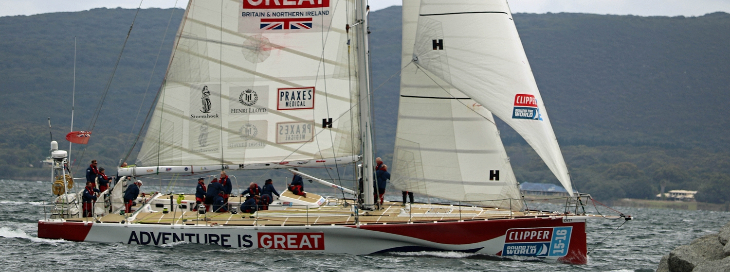 GREAT Britain finishes Race 3 in fifth place