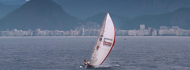 Clipper Race entry GREAT Britain in Rio de Janeiro