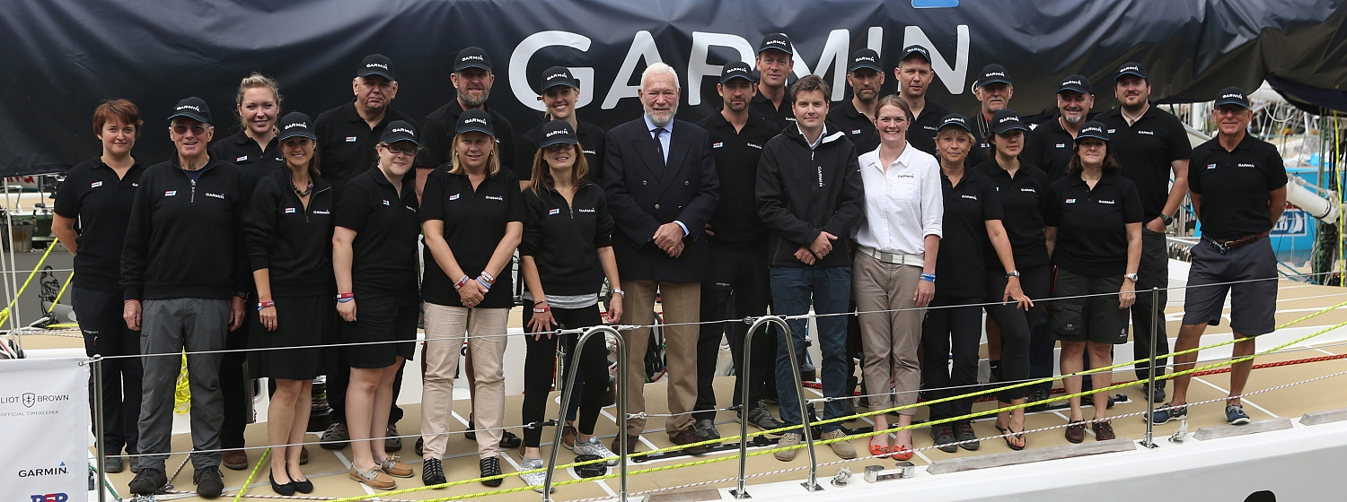 Garmin, the global GPS technology company, has named its yacht entry ahead of its start in the Clipper 2015-16 Race.