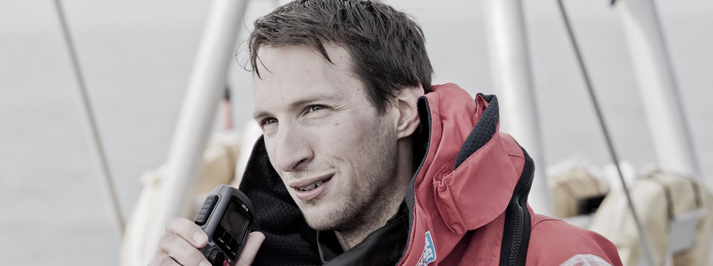 Clipper 2015-16 Race skipper Huw Fernie