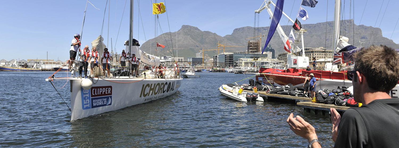 IchorCoal celebrates finish into 'home port'