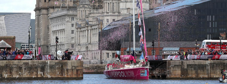 Liverpool 2018 yacht