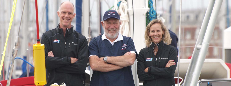 Crew member calling PRAXES on board