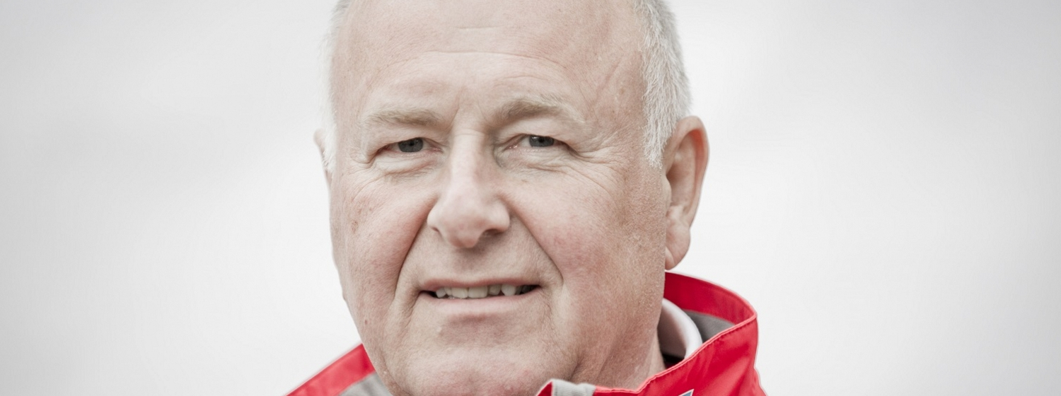 Ken Brown is sailing round the world on board GREAT Britain
