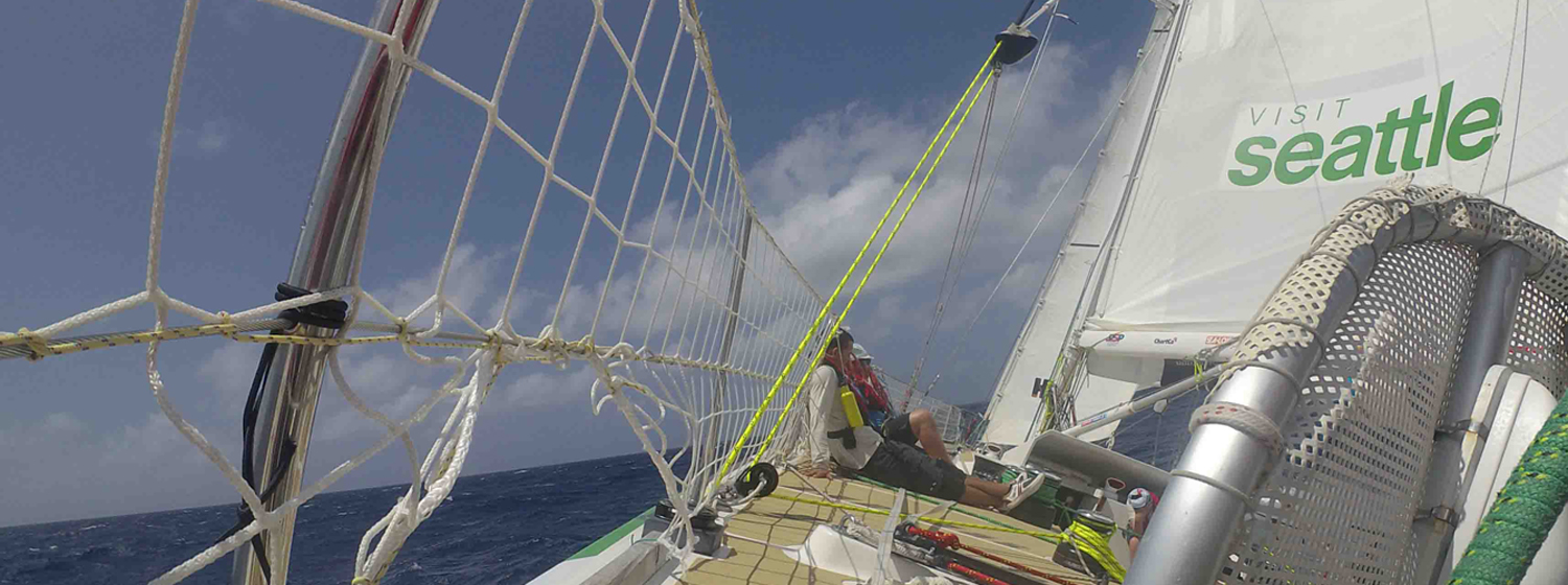 Upwind sailing for Visit Seattle