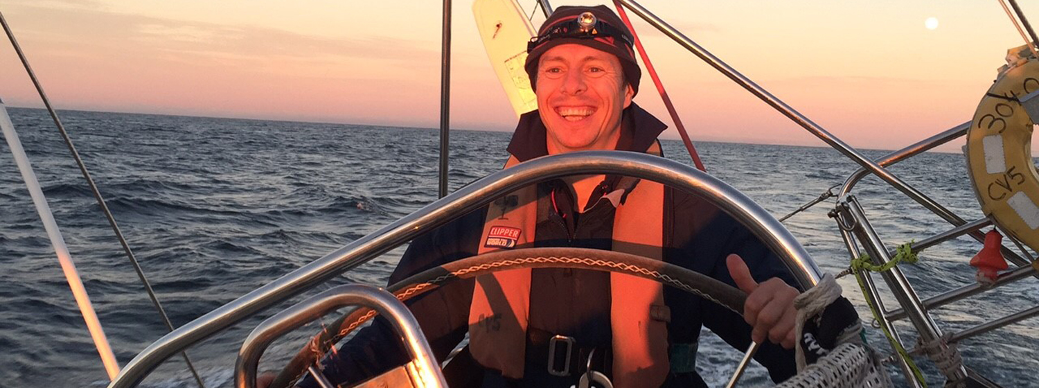 Marc Hundleby will be the first Manxman to sail around the world in the Clipper Race