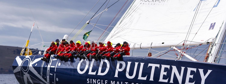 Old Pulteney, skippered by Patrick van der Zijden, will head to the Scotland Boat Show