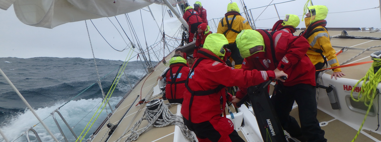 Clipper Race in action