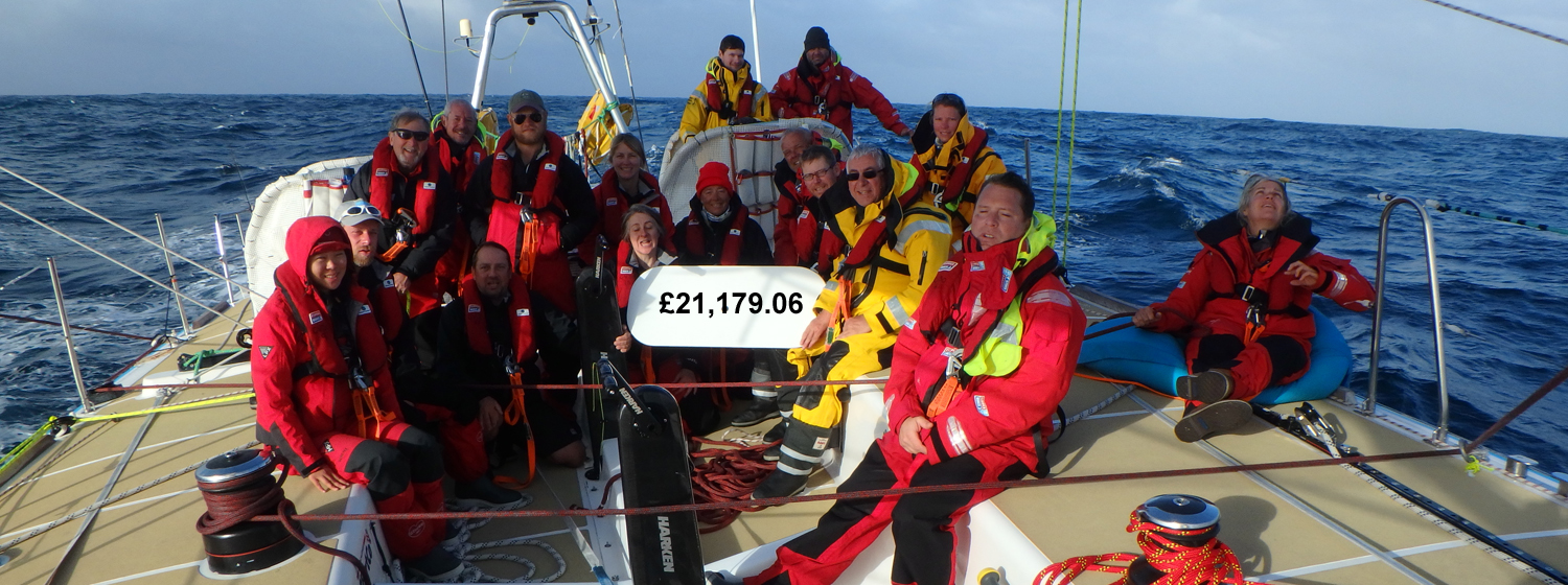 The Unicef team celebrating in the Southern Ocean