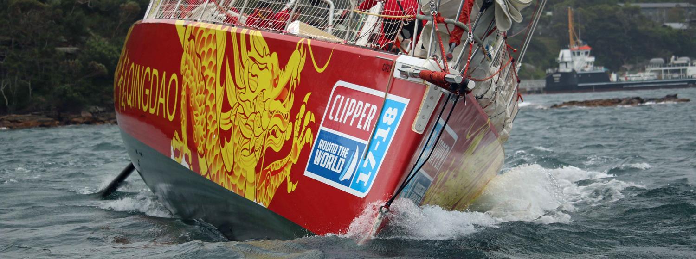 Qingdao sailing into Syndey
