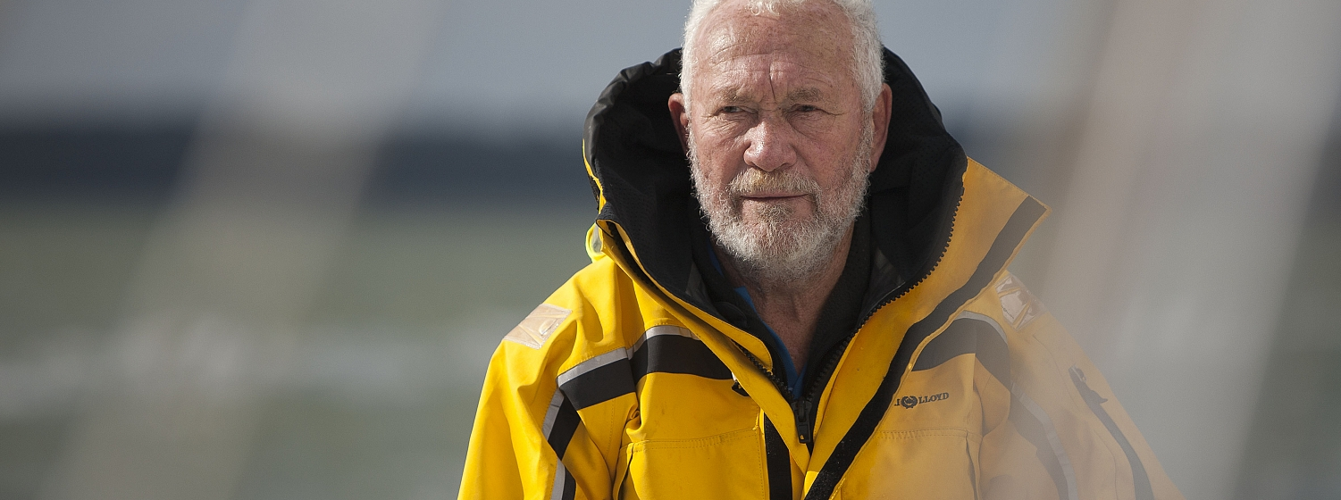 Another night of squalls for Sir Robin Knox-Johnston in Route du Rhum