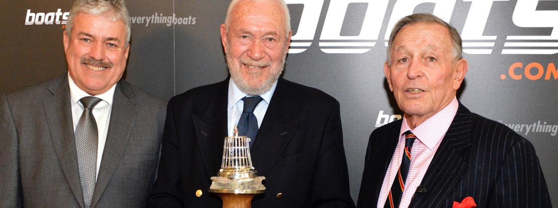 Sir Robin Knox-Johnston awarded YJA Yachtsman of the Year