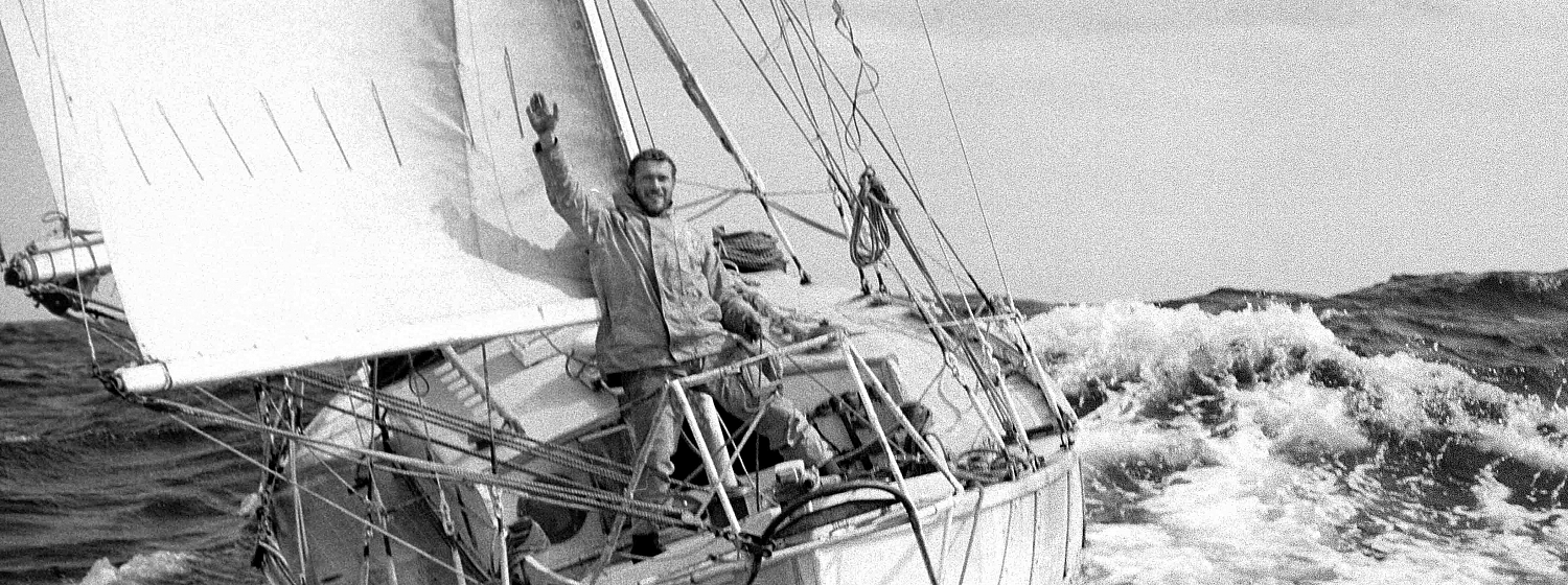 47 years on from Sir Robin Knox-Johnston's Golden Globe historic achievement