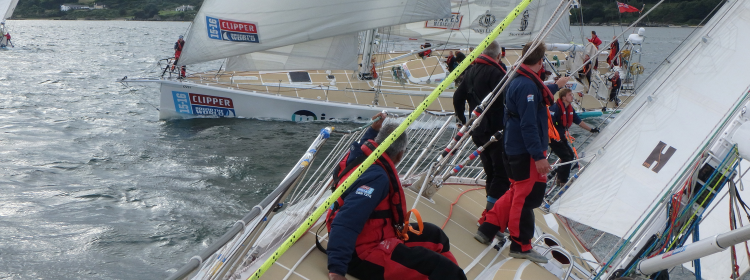 Race 13 Day 1 Tight racing with all to play for