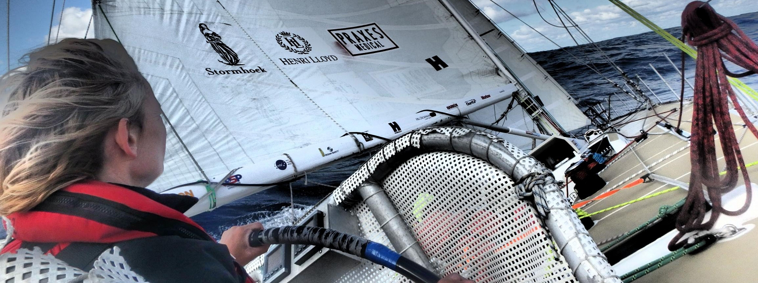 Race 3 Day 5: Life at an upwind angle as teams knock off miles to Albany