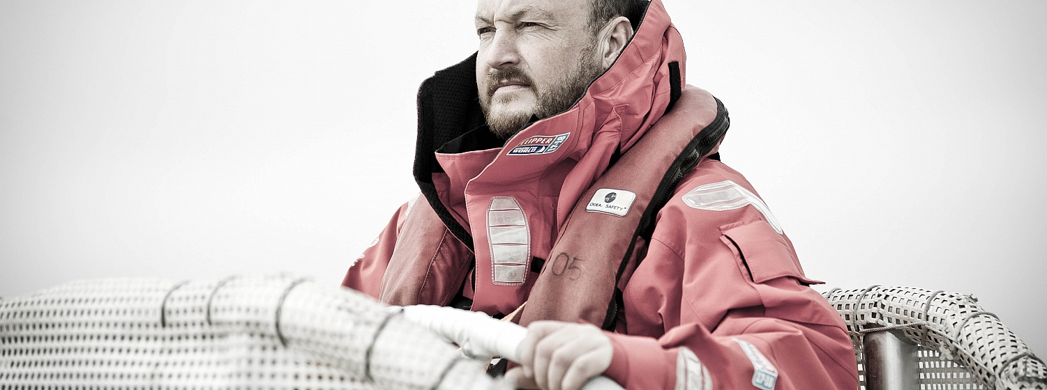 Clipper 2017-18 Race Skipper Roy Taylor