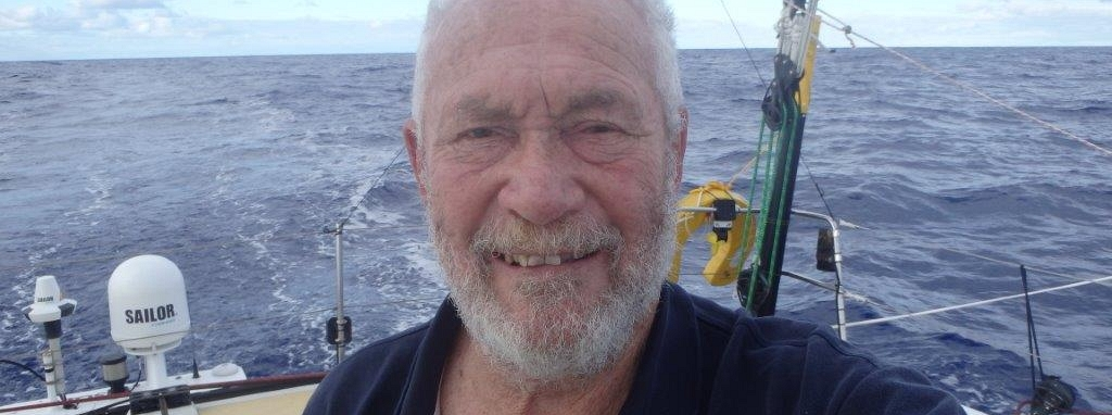 Sir Robin Knox-Johnston has had another night of squalls