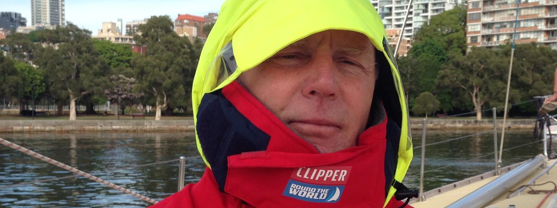 Future Clipper Race crew member, Steve Sonneveld